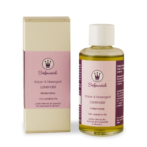 Seifenreich Körper- und Massageöl Lavendel, 1er Pack (1 x 100 ml)