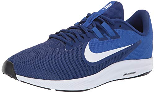 Nike Herren Downshifter 9 Laufschuhe, Blau (Deep Royal Blue/White/Game Royal/Black 400), 46 EU