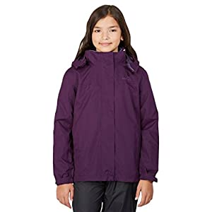 Peter Storm Mädchens Beat The Storm 3-in-1-Jacke, Purple, 5-6 Jahre