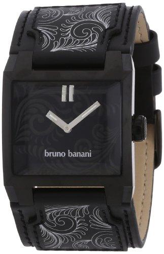 bruno banani - BR20939 - Montre Femme - Quartz - Analogique - Bracelet cuir noir