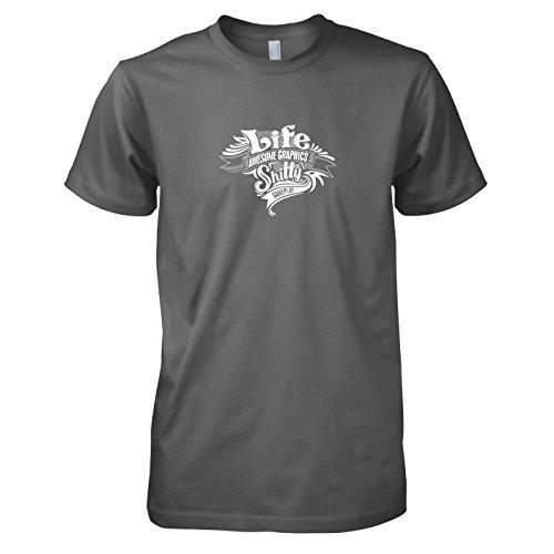 TEXLAB - Game of Life - Herren T-Shirt Grau