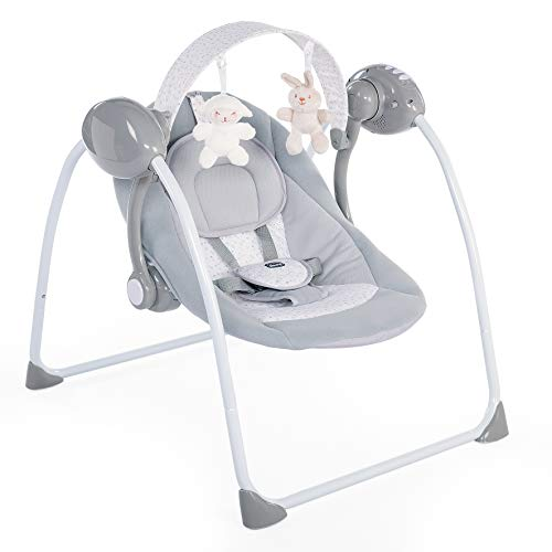 Chicco 00079148190000 BABYSCHAUKEL - RELAX & PLAY, grau