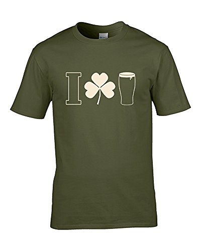 I SHAMROCK BEER–Alkohol Loving Herren TShirt aus fatcuckoo Grün - Grün