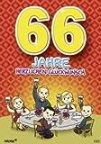Zahlengeburtstagskarte '66. Geburtstag' [Bürobedarf & Schreibwaren]