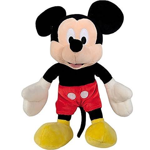 Clubhouse, Mickey Mouse aus kuschelweichem Plüsch, 25 cm || Stoff Tier Figur Micky Maus Kuschel Tier Spielzeug