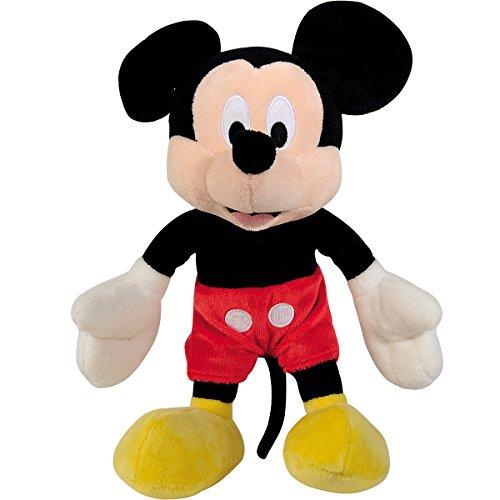 Clubhouse, Mickey Mouse aus kuschelweichem Plüsch, 25 cm    Stoff Tier Figur Micky Maus Kuschel Tier Spielzeug (Mouse Mickey Clubhouse-plüsch-spielzeug)