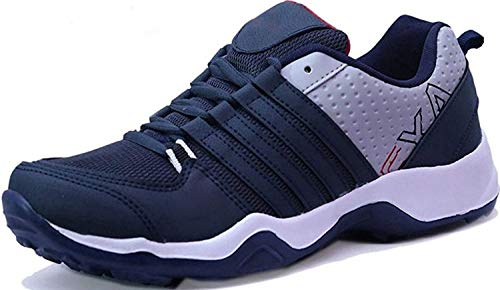 Ethics Perfect Ultra Lite Sport Shoes for Men (10 UK, Blue)