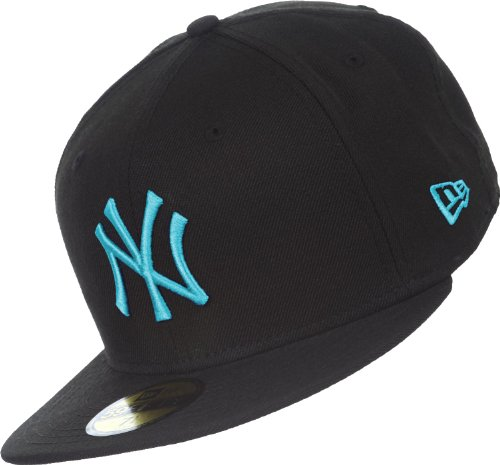 New Era Seasonal Basics NY Yankees Cap 7 1/4 black/vice