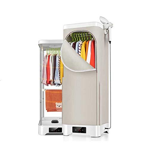 Un'asciugatrice termostato automatico a doppio strato per uso casalingo acciaio inox rapido ad asciugatura rapida con stiratrice verticale ariers interni (carico 20kg 900w 510 * 510 * 1450mm) ,remotecontrollcdmodels