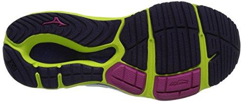 Mizuno Wave Paradox II Synthétique Chaussure de Course Fuchsia Purple Shadow Purple