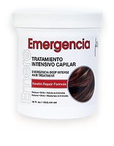 tratamiento de keratina: Toque Magico Emergencia 16OZ/453ML – tratamiento intensivo para el cabello, masc...