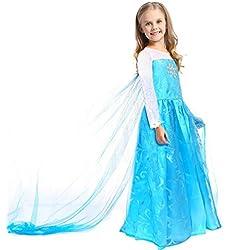CoolChange disfraz de Elsa de Frozen, talla: hasta la 150