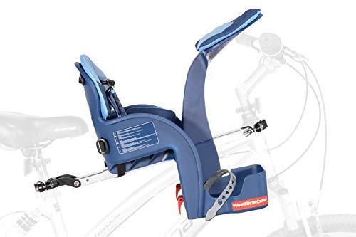 Silla para bici de bebé Weeride Safe Front Deluxe
