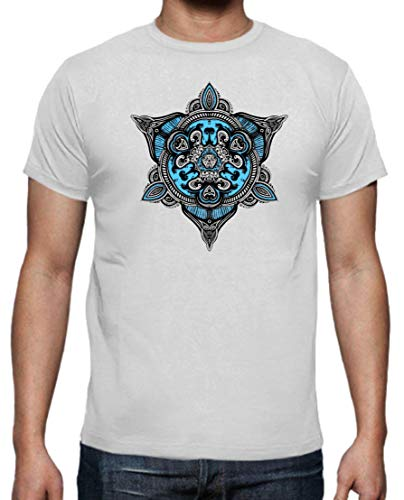 The Fan Tee Camiseta de Hombre Mandalas Buda Yoga 2XL