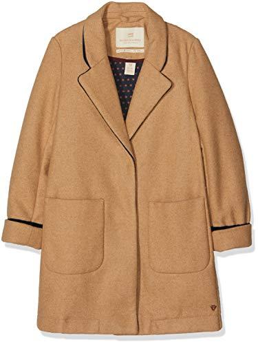 Scotch & Soda RŽBelle Tailored Jacket In Bonded Wool Quality, Abrigo Niñas, Marrón Camel Melange...