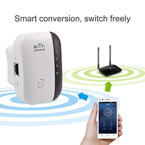 Corneliaa WiFi Range Extender 300 Mbps Wireless WiFi Repeater Mini tragbarer Signalverstärker Wireless Access Point AP Signalverstärker -