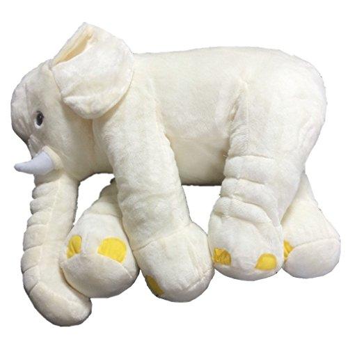 VADOO Baby Soft Plüsch Elefanten Kinder Lendenwirbel Kissen Spielzeug Mit großer Decke