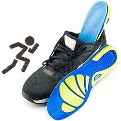 KICCOLY ✅Plantillas para Zapatos de Gel Amortiguadoras