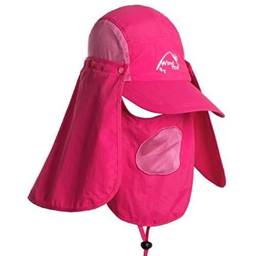 JOYOTER 360 Grad Sun Protect Fishing Cap Wandern Sun UV-Schutzkappe atmungsaktiv Gesicht Neck Cover für Outdoor-Sport