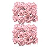 Descripción:               - La hermosa flor de rosa artificial en miniatura viene con un tallo, de colores vibrantes y se ve muy real.        - Incrementa la atmósfera más dulce y romántica en tu vida, haz que tengas buen hum...