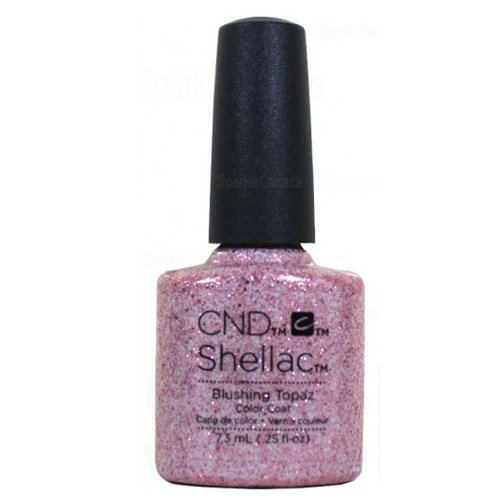 Cnd Shellac Blushing Topaz Esmalte en Gel - 7.3 ml