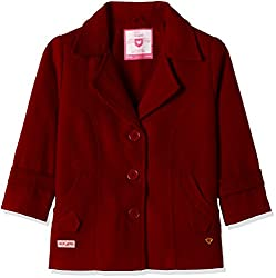 612 League Girls Coat (ILW16I63020_Maroon_4-5YRS)