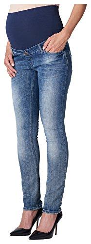 ESPRIT Maternity - OTB slim, Jeans da donna, blu (blau  (lightwash 950)), 40