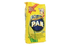 PAN Mehl vorgekochtes weisses Maismehl 1kg
