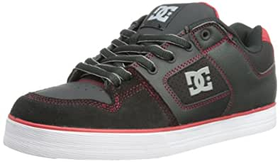DC PURE SLIM SHOE 301970-BLR, Herren Skateboardschuhe, Rot (BLACK/RED), EU 38