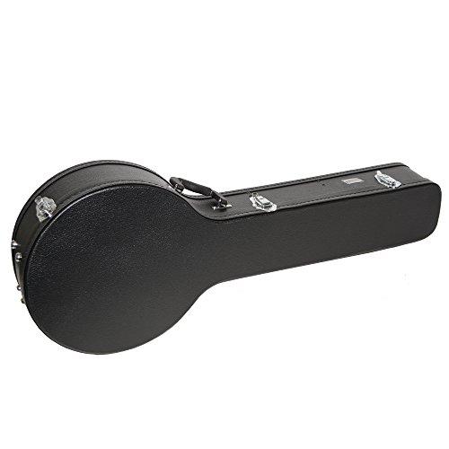 Rocket Music BJW01CA - Estuche para banjo, color negro