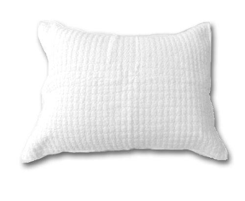 Be-You-tiful Home CC603WSS Leinen, gesteppt, Standard, Weiß - Cottage Standard-quilt