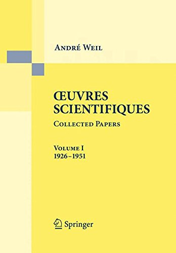 Oeuvres Scientifiques/Collected Papers, Volume I 1926-1951