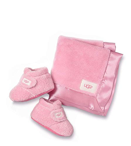 Ugg® Bixbee Bootie and Lovey Blanket Infants Botas Rosa