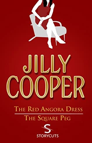 book cover of The Red Angora Dress / The Square Peg