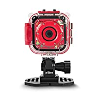 """DROGRACE Children Kids Camera Waterproof Action Camera 1080P Video Camcorder for Boys and Girls with 1.77"""" LCD Screen and Digital Zoom"""