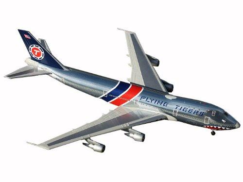 Gemini Jets GJFTL1207 Flying Tigers Boeing 747-100F Shark Mouth N800FT 1:400 Diecast Model