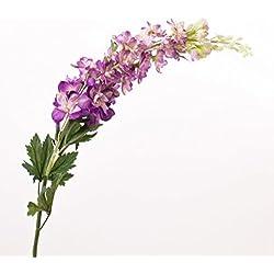 artplants - Deko Rittersporn, lavendel, 100 cm, Ø 11 cm - Künstlicher Delphinium / Kunstblume