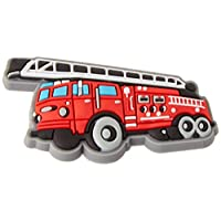 Crocs Fire Truck Charm SS17 Shoe Decoration Charms, Multicolour (-), One Size