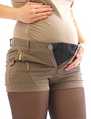 yeset - Ceinture de grossesse spécial grossesse - Avec taille nouée - Uni - Femme Gris - Gris foncé