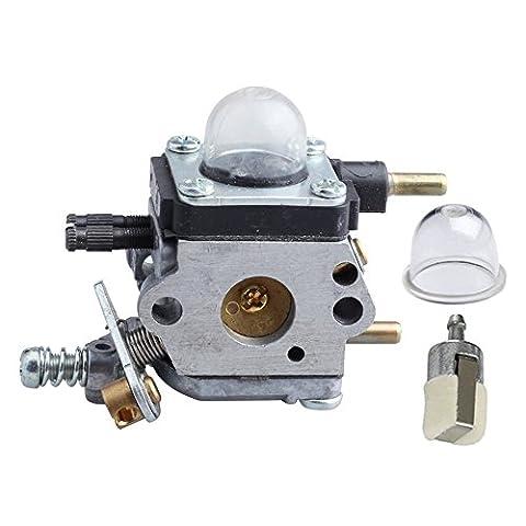 HIPA C1U-K82 A021001090 Carburateur et Pompe d'Amorçage Filtre à Essence