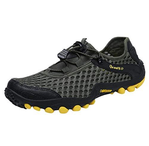 Jimmackey Sandali Sneakers Sportivi Estivi Uomo Trekking Scarpe da Spiaggia All'aperto Pescatore Piscina Acqua Mare Escursionismo Leggero
