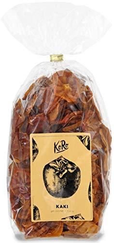 Getrocknete Kaki | Exotische Sharon | Trockenfrüchte | Schwefelfrei | Zuckerfrei | 500 g | Vorteilspackung | KoRo