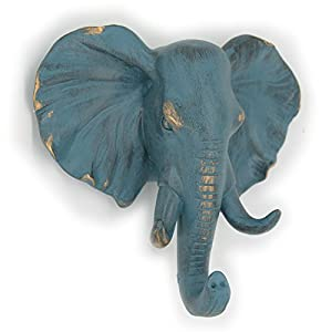 Herngee Elephant Single Wall Hook / Hanger Animal Hooks, Home Decorative