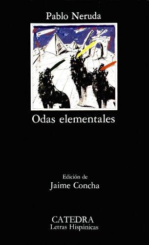 Odas elementales (Letras Hispánicas) por Pablo Neruda