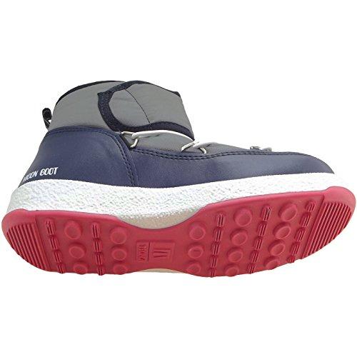 Moon Boot - Bottes d'hiver - MOON BOOT W.E. JR ST Gris
