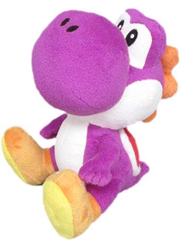 Little Buddy Super Mario Bros. Yoshi Gefülltes Plüsch, 15,2cm violett (Spielzeug Plüsch Rosalina Baby Mario)