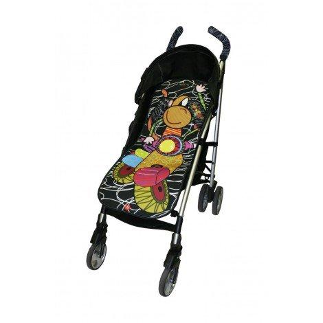 Tris&Ton colchoneta silla de paseo ligera universal para carrito cochecito bebe transpirable de microfibra...