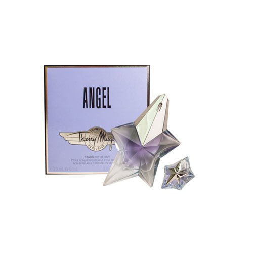 Thierry Mugler Angel 25 ml EDP Spray / 5 ml EDP Mini, 1er Pack (1 x 25 ml) -