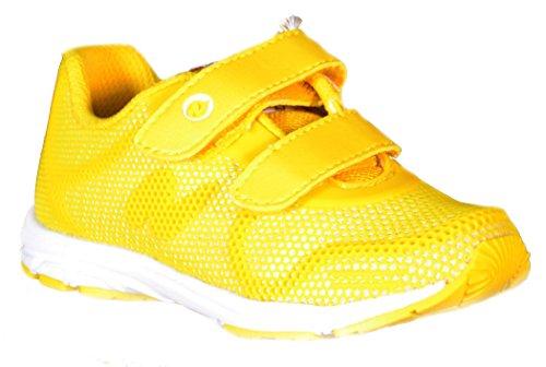 Naturino - Naturino Kinder Sport Schuhe Gelb Textil Sport 487 Grün