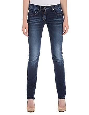 timezone damen straight leg jeans tahilatz gr w30 l32 blau mission wash 3698. Black Bedroom Furniture Sets. Home Design Ideas